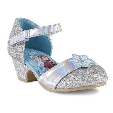 ef1f1c6630e8 Amazon.com | Disney Toddler Girls' Frozen Dress Shoe | Flats