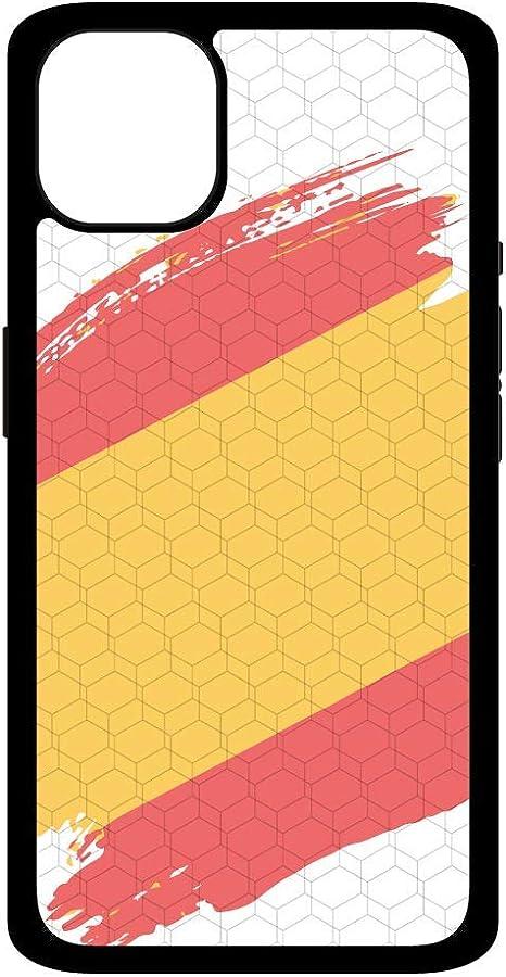 Funda móvil Bandera España Compatible con iPhone 11 Pro MAX. Carcasa de TPU de Alta protección. Funda Antideslizante, Anti choques y caídas.: Amazon.es: Electrónica