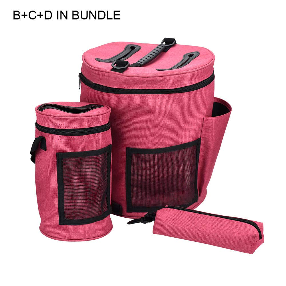 Yarn Storage Bag Sewing Accessories Organizer Knitting Kit Bag Thread Needle Bag Yarn Holder Crochet Sewing Storage Box Tote