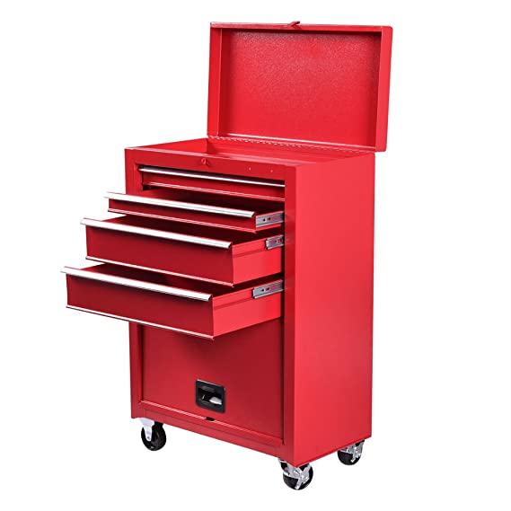 Review Portable Tool Chest Rolling