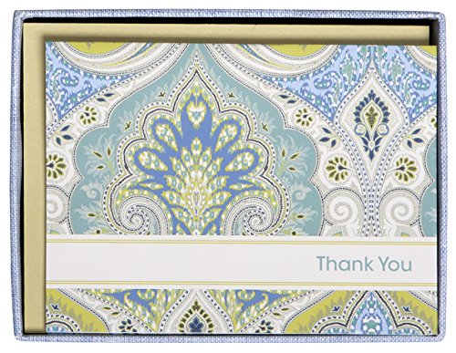 C.R. Gibson Thank You Notes, Set of 10 Boxed Cards for sale  Delivered anywhere in USA