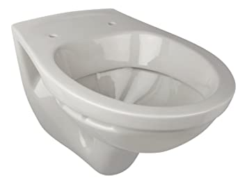 Wand-WC | Tiefspüler | Manhattan | Grau | Toilette | Klo | Gäste-WC ...
