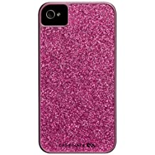 Case-Mate CM017677 Barely There Glam for iPhone 4/4S-1 Pack-Retail Packaging-Hot Pink