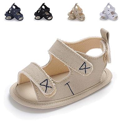 Amazon.com: Sakuracan - Sandalias de verano para bebé y niño ...