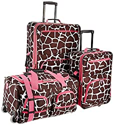 Image of the product Rockland Luggage 3 Piece that is listed on the catalogue brand of Rockland.
