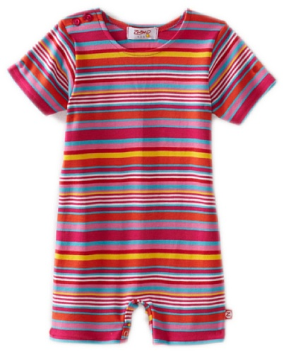 Zutano Baby-girls Infant Multi Stripe Bodysuit