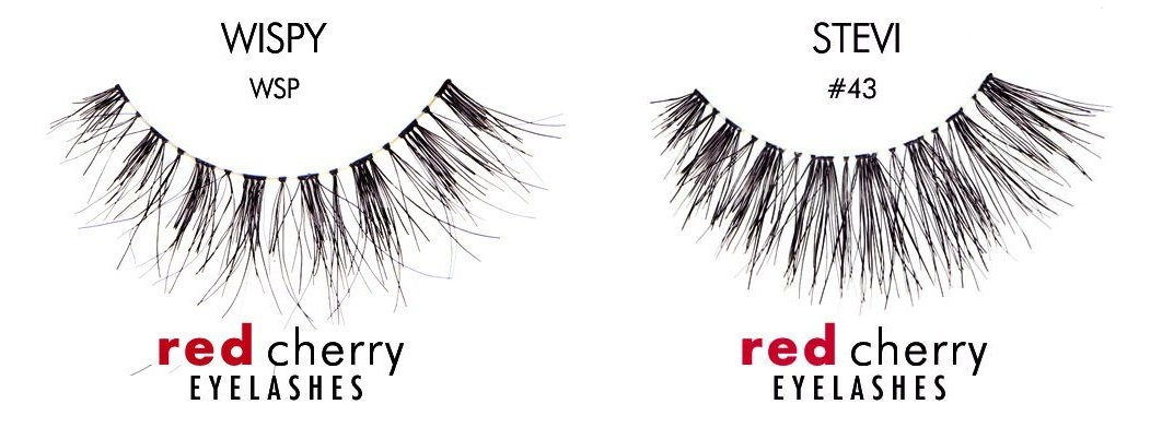 Amazon Red Cherry False Eyelashes Wsp Pack Of 3 Fake