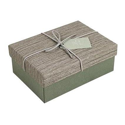 Creative decorativo caja de regalo regalo cuadrado favor cajas regalo comida, dibujo gris oscuro