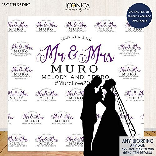 Wedding Photo Booth Backdrop Custom Step And Repeat Engagement Party Red Carpet Banner Printed