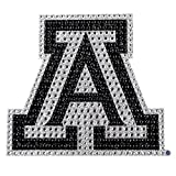 University of Arizona Wildcats College NCAA Sports Team Collegiate Logo Car Truck SUV Motorcycle Trunk 3D Bling Gem Crystals Chrome Emblem Adhesive Decal offers