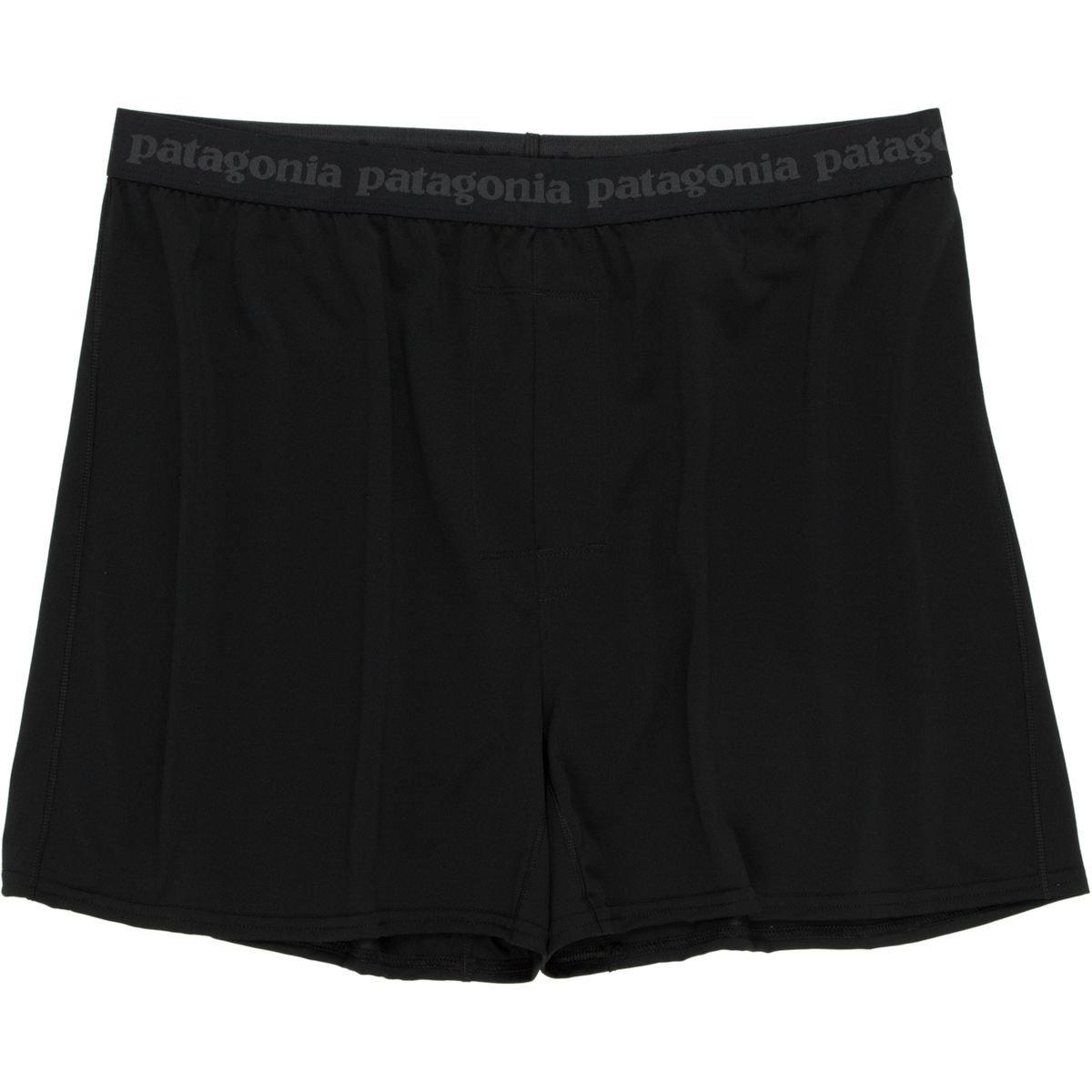 (パタゴニア) Patagonia Capilene Daily Boxer メンズ アンダーウェアBlack [並行輸入品] S ブラック B07H5FLTDW