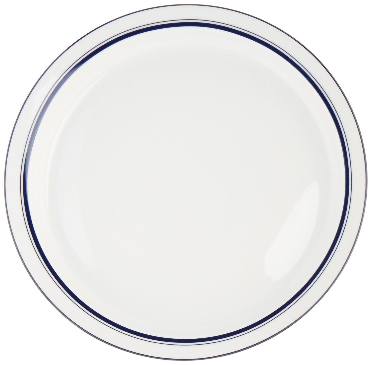 Bistro Christianshavn Blue Dinner Plate Set Of 4