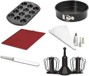 Moulinex Cuisine Robot de Cocina + Moulinex Accesorios Cuisine Companion Kit Repostería: Amazon.es: Hogar