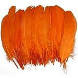 50pcs Home Decor Orange Duck Feather