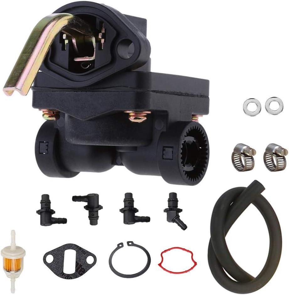 Fuel Pump for Kohler engines including K241 K301 K321 K341 10 12 14 16hp M10 M12 Replaces 4739319-S 4755901-S 4755903 4755904-S 4755905-S 4755911-S 4755904 47-559-04S 47-559-11S 4755911S