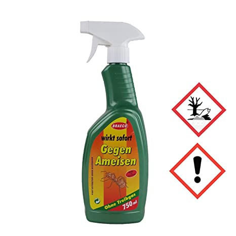Spruzzo Di Formica Spray Formiche Veleno Per Formiche 750ml Amazon