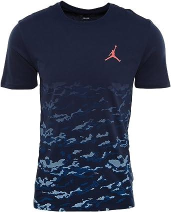 NIKE Fly High tee Camiseta Manga Corta de la línea Michael Jordan, Hombre: Amazon.es: Deportes y aire libre
