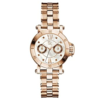GUESS GC Femme Rose Gold-Tone Timepiece