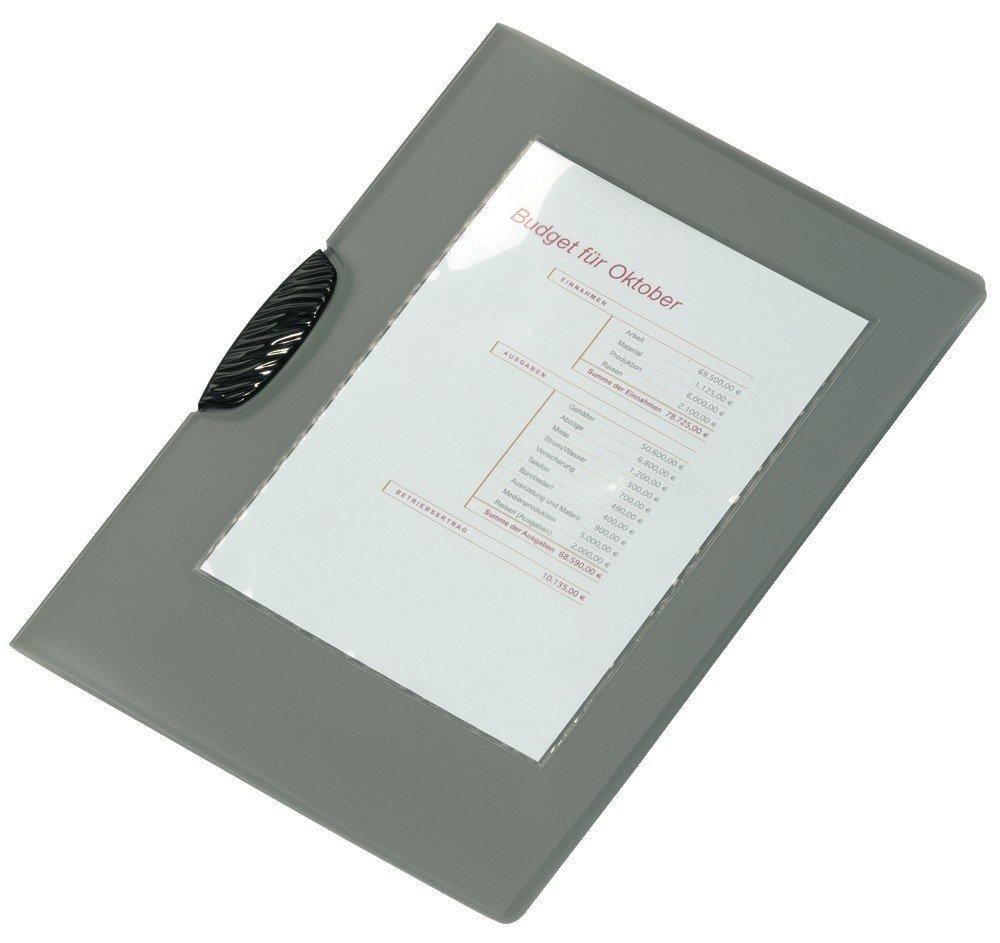 tasca adesiva con inserto in cartoncino per cataloghi 94x63 mm portalistini trasparente Pocketfix confezione da 100 pezzi DURABLE 827919