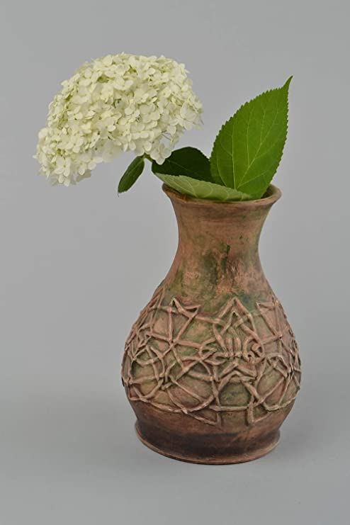 Amazoncom Beautiful Handmade Ceramic Vase Flower Vase Design