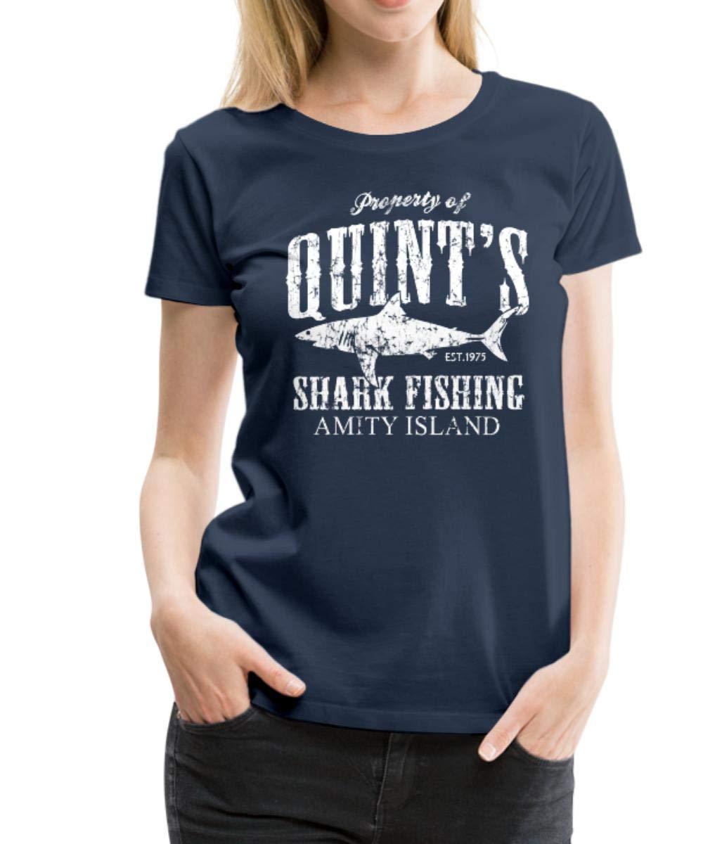Quint S Shark Fishing Vintage S Premium T Shirt 2659