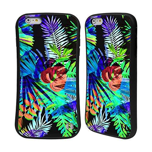 Ufficiale Haroulita Foglie Tropicale Case Ibrida per Apple iPhone 6 Plus / 6s Plus