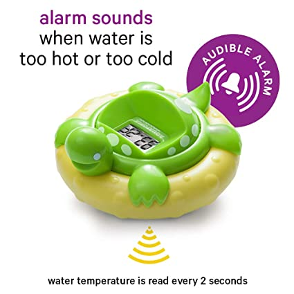 Baby Water Thermometer Bathing Gadget Tool Turtle Shape Infants Todler