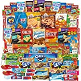 Snacks Care Package - Chips, Cookies, Candy Assortment Bundle Gift Pack and Variety Box (69 Count)