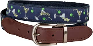 product image for Margarita Cut-to-Size Leather Tab Belt by Belted Cow Company - Made in Maine