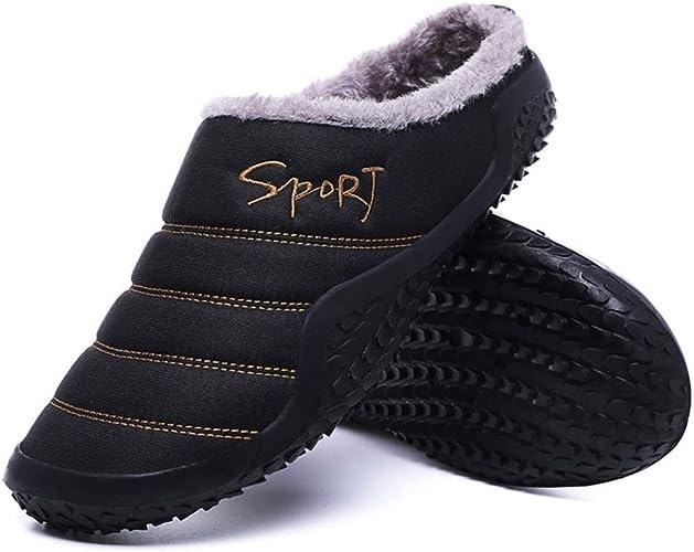 Womens Mens Slippers House Winter Slip