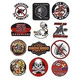 Dirty Dozen Hard Hat Sticker Mix 5