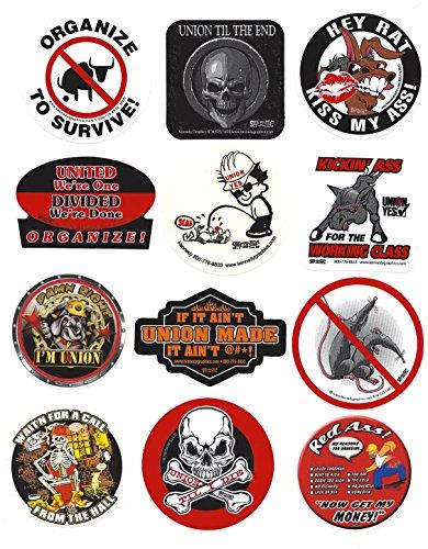 Price comparison product image Dirty Dozen Hard Hat Sticker Mix 5