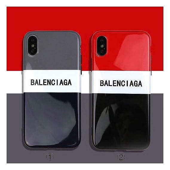timeless design 84726 e5b81 Amazon.com: iPhone Series Protective Cases Street Fashion Balenciaga ...