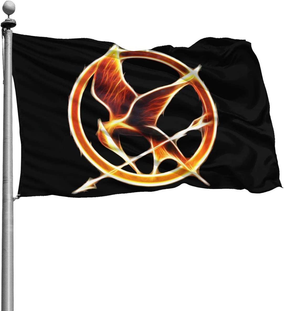 Amazon Com Not The Hunger Games Mockingjay Fashion Banner Flag Outdoors 4 X 6 Ft Garden Outdoor