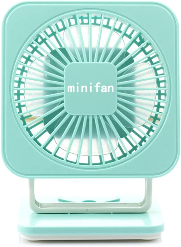 Outdoor Office Dorm Green MQYH@ Baby Car Clip Fan USB Mini Rechargeable Portable Desktop Personal Fan For Baby Stroller Gym Travel Camping Car