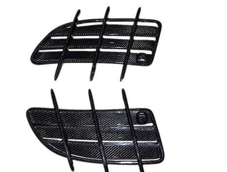 2PCS R171 Eppar New Carbon Fiber Hood Scoops for Mercedes Benz SLK 2004-2011 SLK200 SLK280 SLK300 SLK350