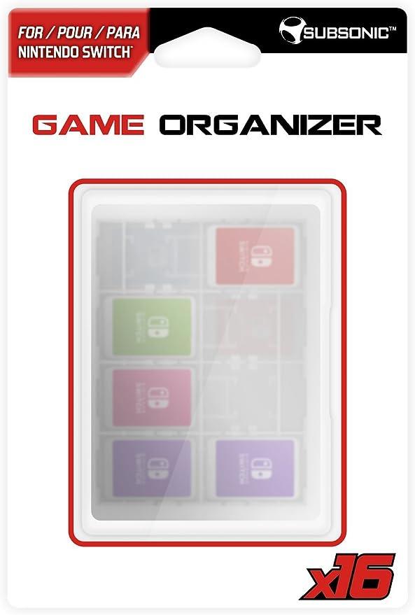 Subsonic - Caja Para Guardar Los Juegos Y Memorias, 16 Plazas (Nintendo Switch): Amazon.es: Videojuegos