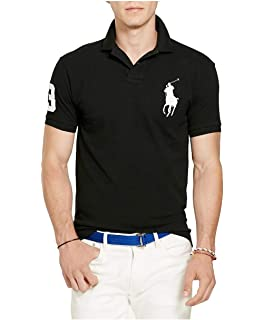 Polo Ralph Lauren Mens Custom Fit City Polo Shirt at Amazon Men s ... 2435355d11e2