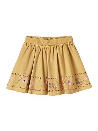 Cyrillus - Falda - Cóctel - para niña Amarillo Mostaza 4 años ...