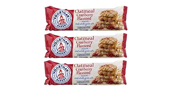Oatmeal Cranberry Flaxseed Cookies 1 Voortman Christmas Holiday