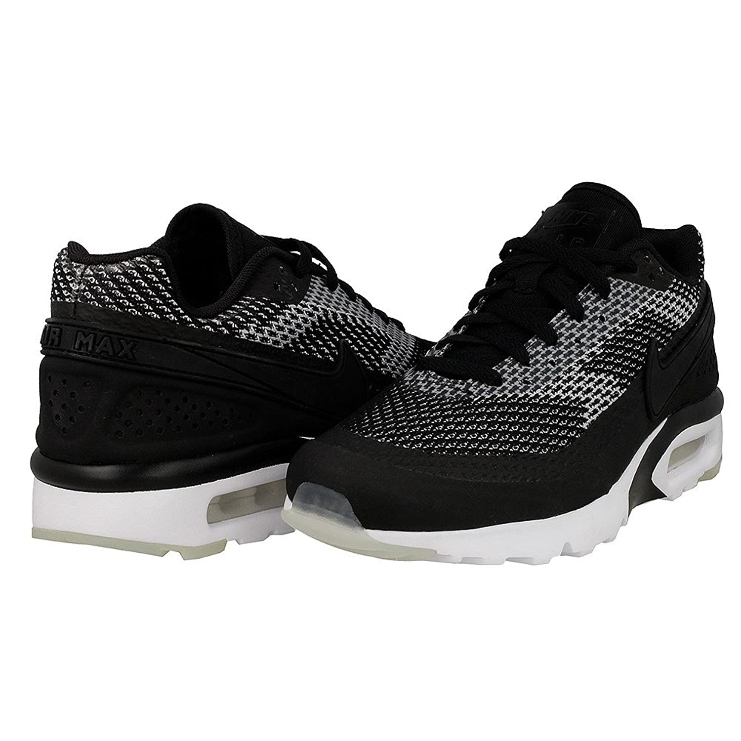 best loved f77ba 2baf9 ... Amazon.com  Nike Air Max BW Ultra Knit Jacquard KJCRD Premium PRM  Sneaker black ...