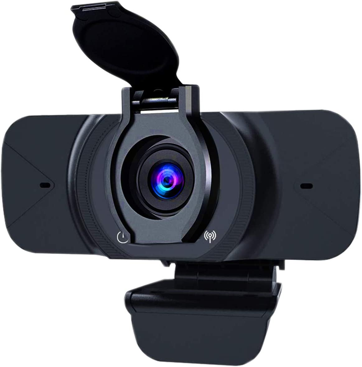 AIRIVO 1080P Webcam with Microphone & Privacy Cover, USB Camera Streaming Webcam for PC Desktop Computers Laptop, Gaming,Conference, Study, Video Calling