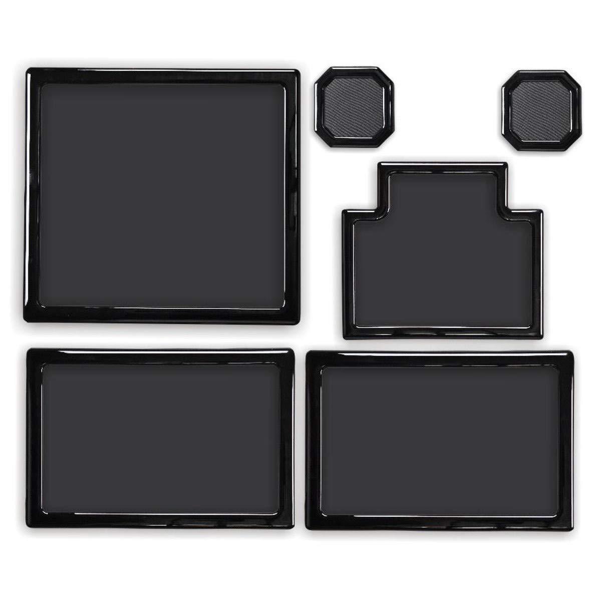 DEMCiflex Dust Filter Kit for Thermaltake Core V1, Black Frame/Black Mesh