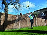 Cheap Open Goal Soccer Rebounder/Goal/Backstop ALL IN ONE (Large)