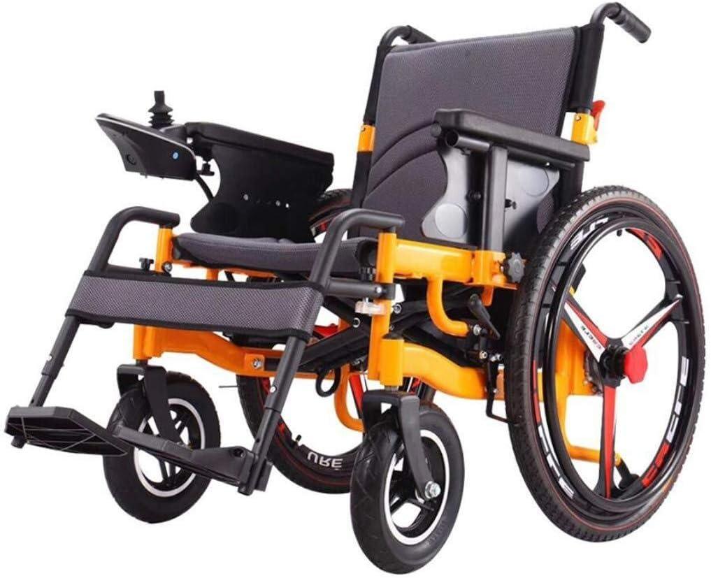 QZDDLY 2020 sillas de Ruedas Mejores eléctrico, Plegable portátil, el Drive más Largo 20km20A batería de Litio de 24 Pulgadas Ruedas, Dos Modos for los Ancianos discapacitados