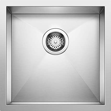 Amazon.com: Blanco 515637 precisión único bar de acero ...