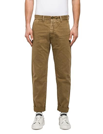 Clearance Excellent Wiki Cheap Price Mens Nickave Trousers Replay 100% Original Sale Online 2018 New Cheap Price Newest For Sale AInzbO