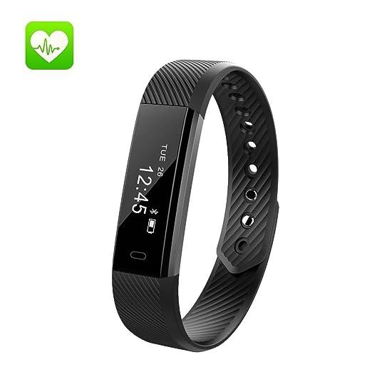 47 opinioni per Fitness Tracker,cardiofrequenzimetro Braccialetto Fitness IP67 Impermeabile