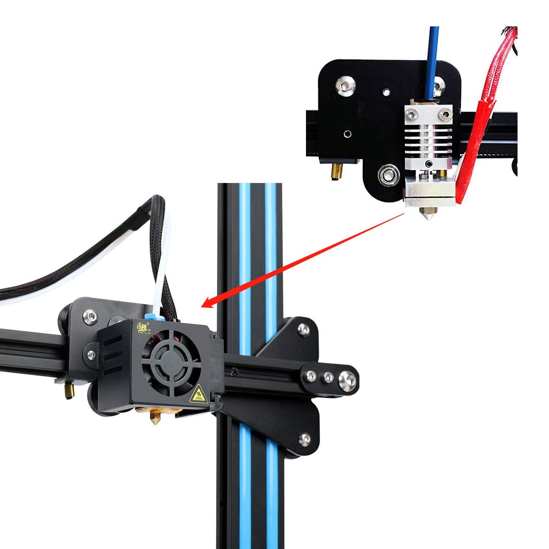 3 5 Printers CR-10S //CR-10//CR-10 Mini//CR-20 //CR-20 Pro Ender 2 0.4mm All Metal Hotend Kit for Creality CR-10