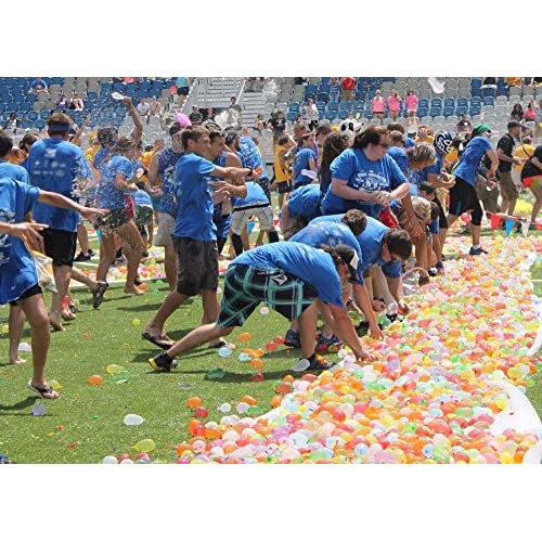 Simona Micah 1000 Pack Water Balloons Bulk Inflatable Refill
